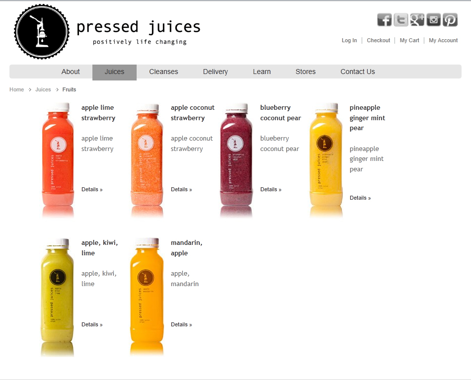 Pressed Juices Fruit juices: http://www.pressedjuices.com.au/index.php/juices01/fruits.html