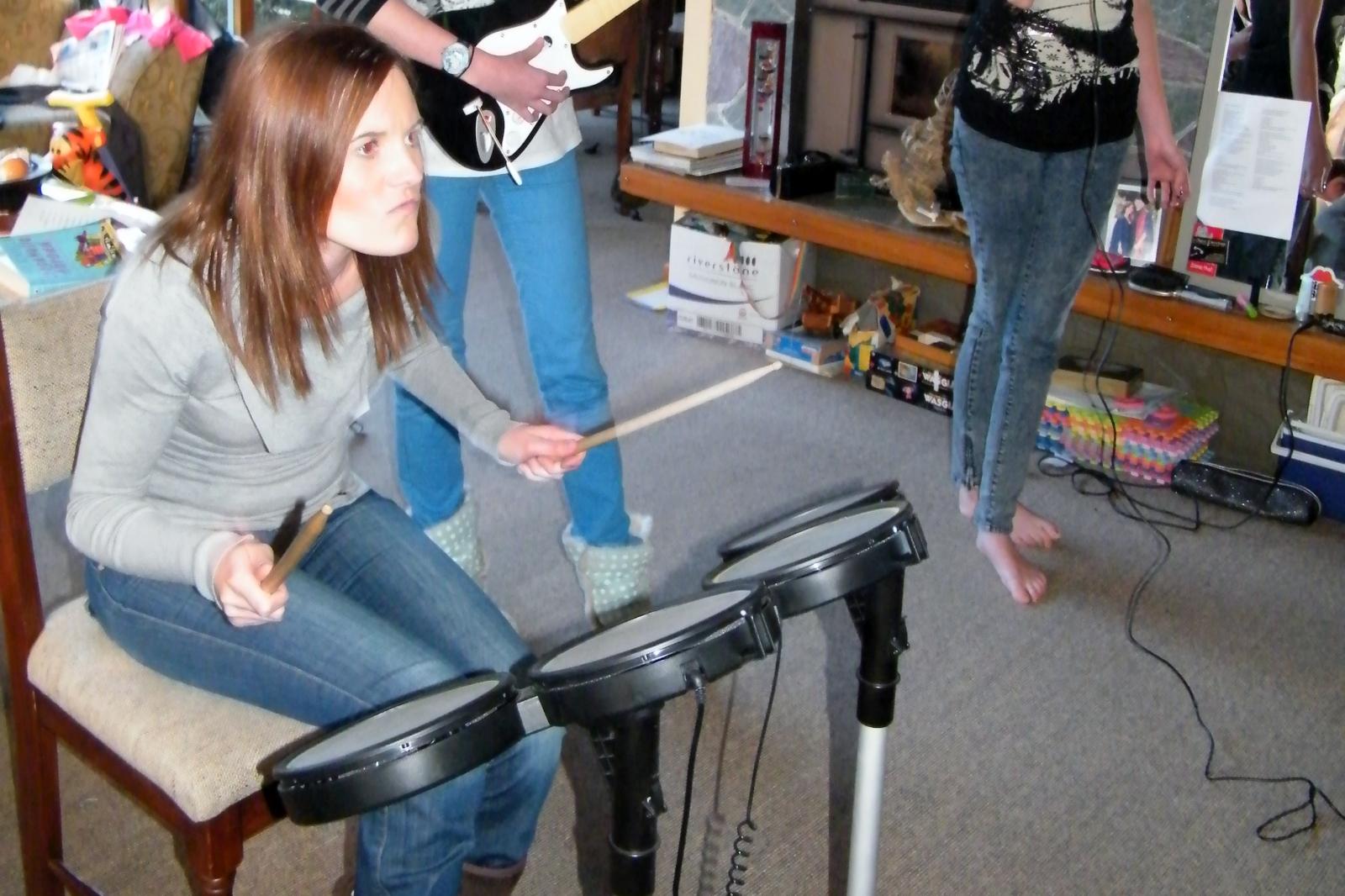 I take my drumming seriously.