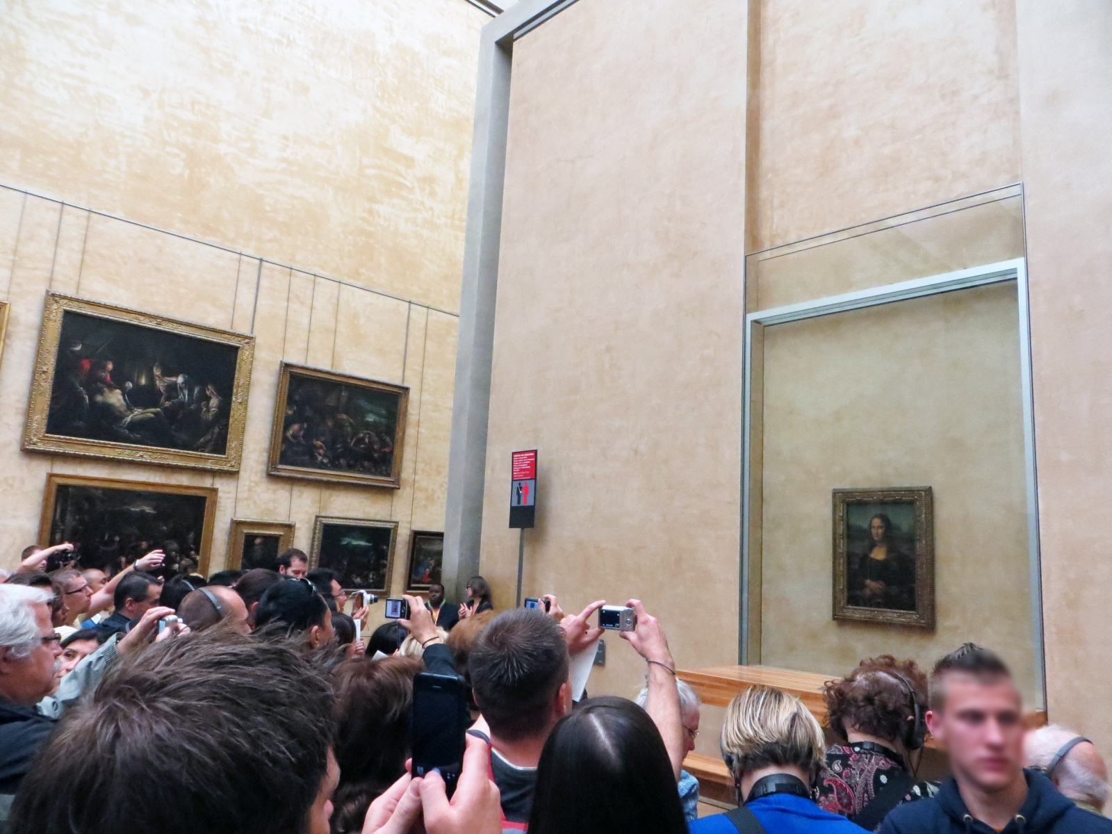 The Mona Lisa - Paris, France