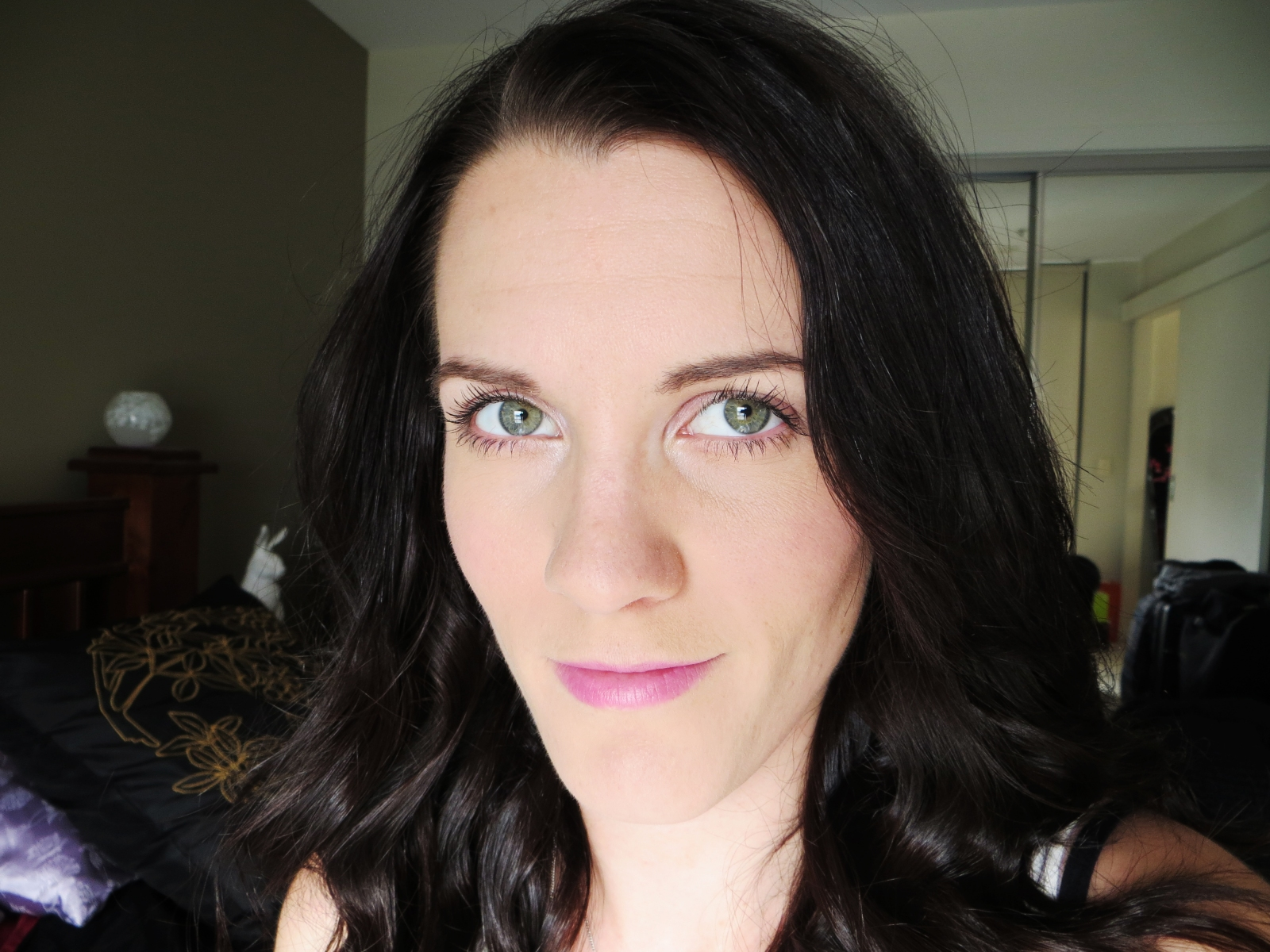 Makeup selfie #firsttimeforeverything